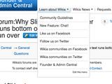 Admin Forum:New Founder & Admin logo & wikilink