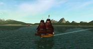 """""""Cutlass"""" frigate"""