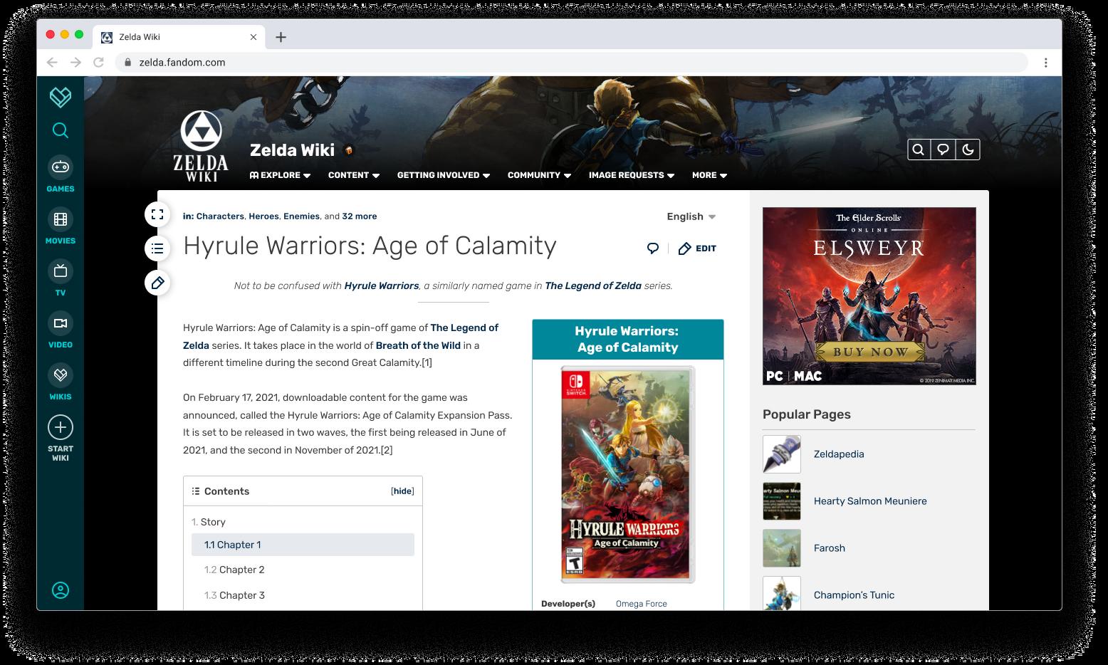 Présentation de FandomDesktop, la nouvelle apparence et convivialité pour les utilisateurs d'ordinateurs de bureau
