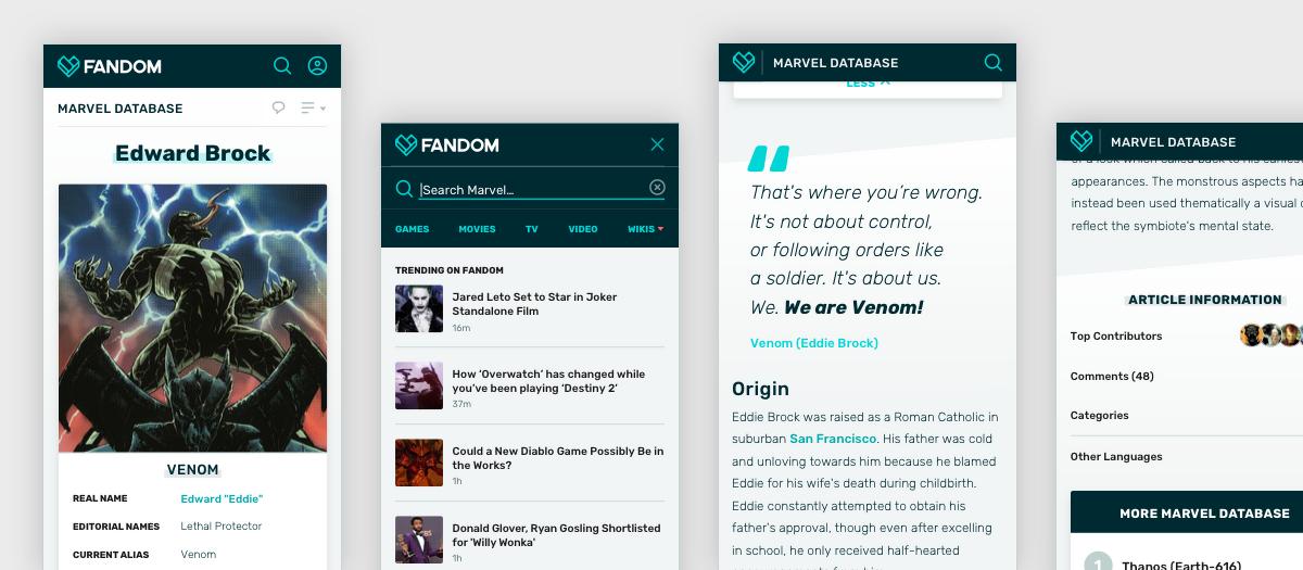 Wie FANDOMs mobile Ansicht sich 2018 verändert hat
