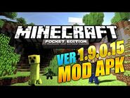 Minecraft- Pocket Edition - VER. 1.9.0