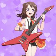 Toyama Kasumi Purple Heart Cover