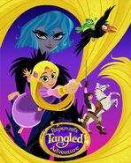 Rapunzel's Tangled Adventure Poster