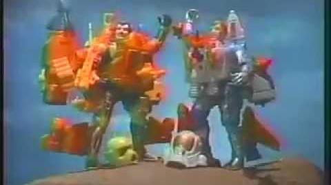 Centurions Action Figures Commercial Toys from Kenner in the 1980's