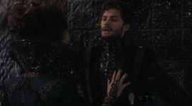 Jamie Dornan as The Huntsman on Once Upon A Time Season One Finale 2.png