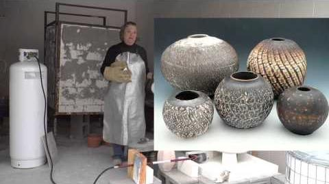 Making a Crackly Surface for Obvara Firing MARCIA SELSOR