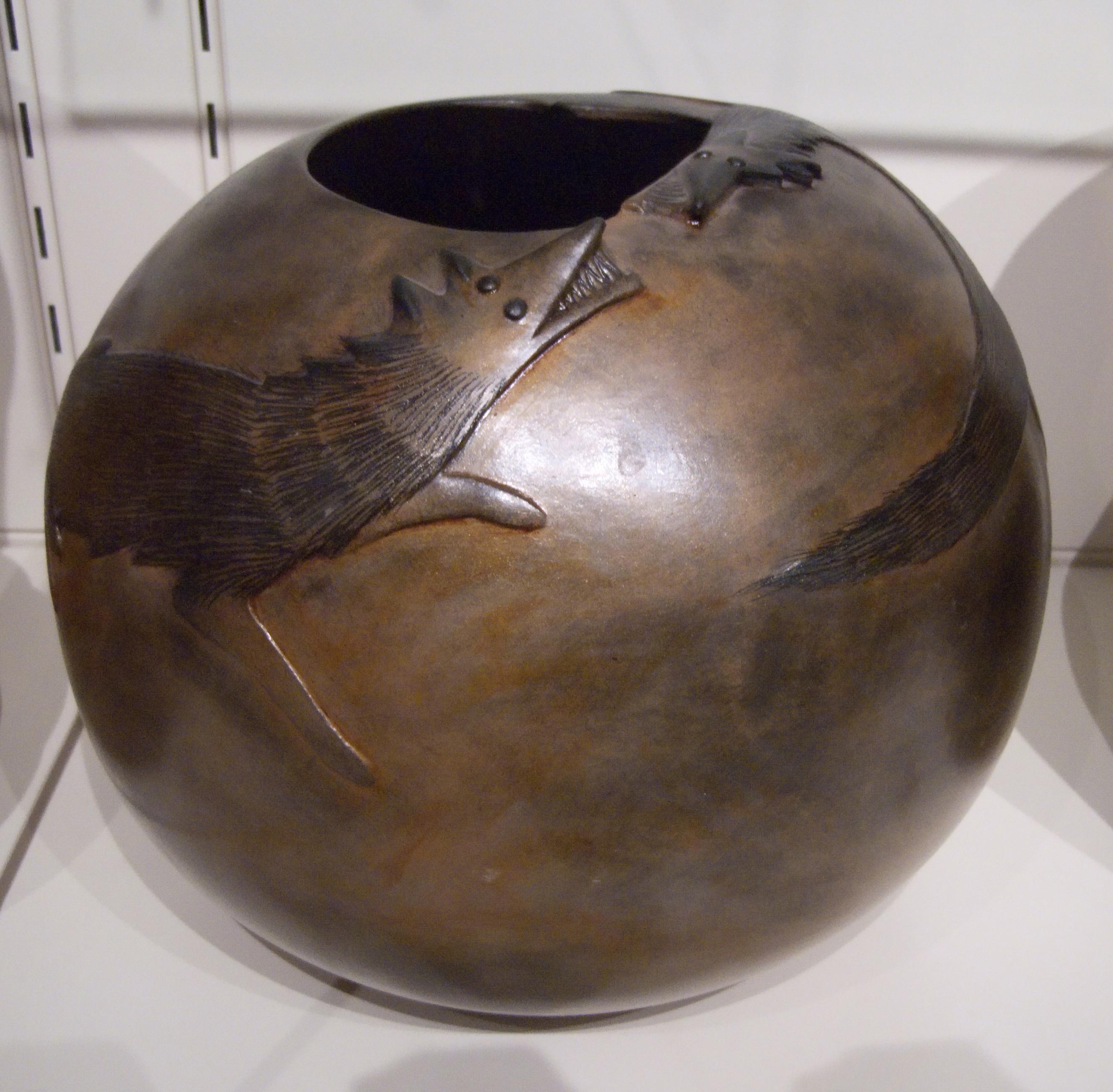 Micaceous Pot