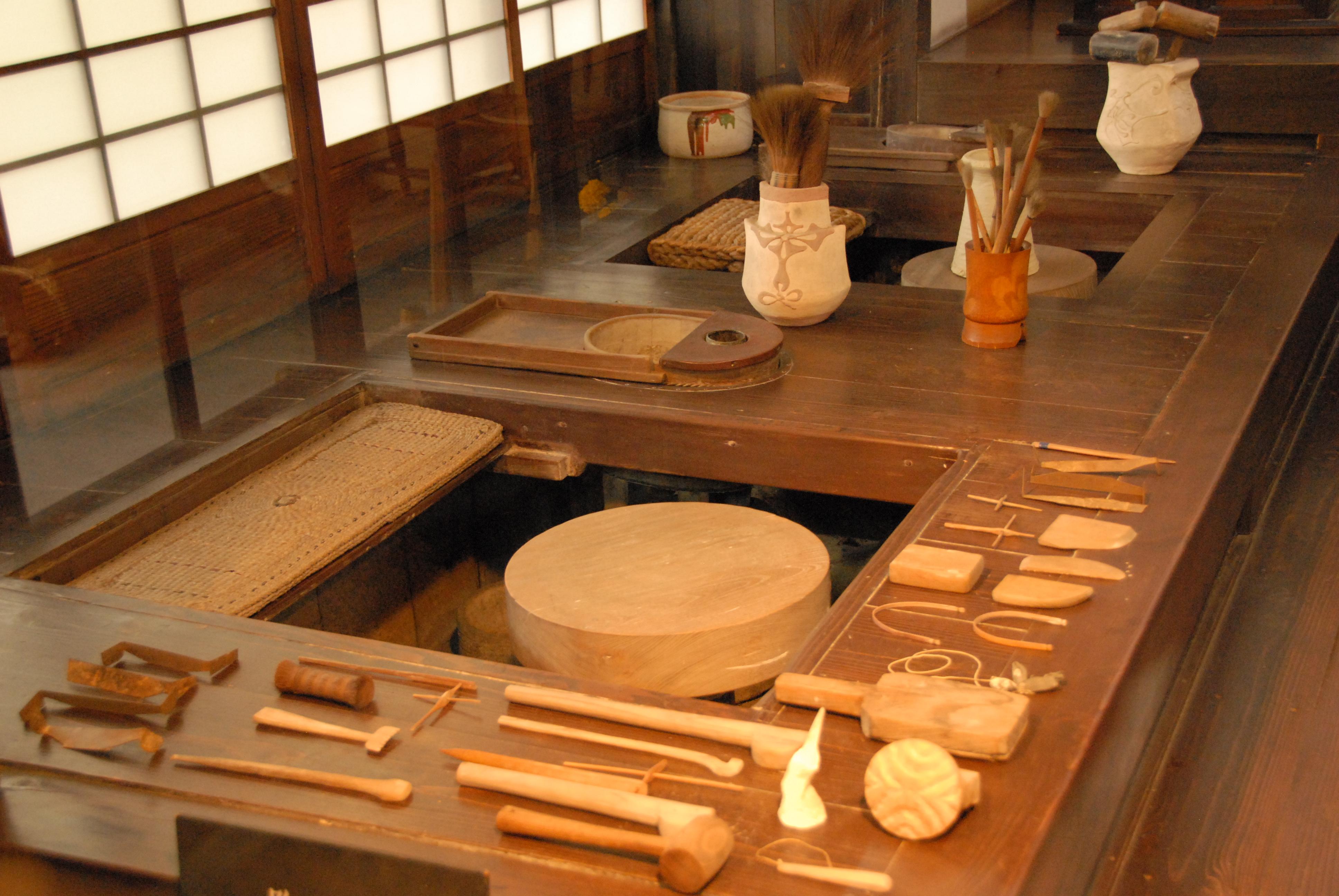 Kawai Kanjiro's House, Kyoto - working places.jpg