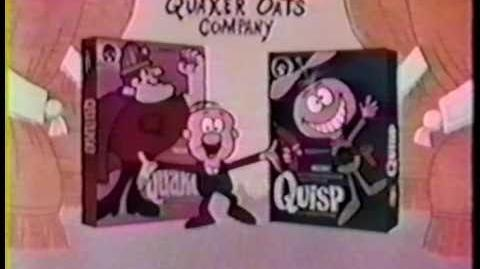 Quisp vs Quake Cereal 1965 very 1st Commercial