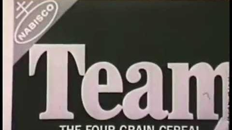 VINTAGE MID 1960s NABISCO TEAM FLAKES COMMERCIAL (DISCONTINUED CEREAL)