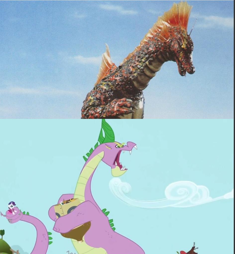 Titanosaurus VS Spikezilla