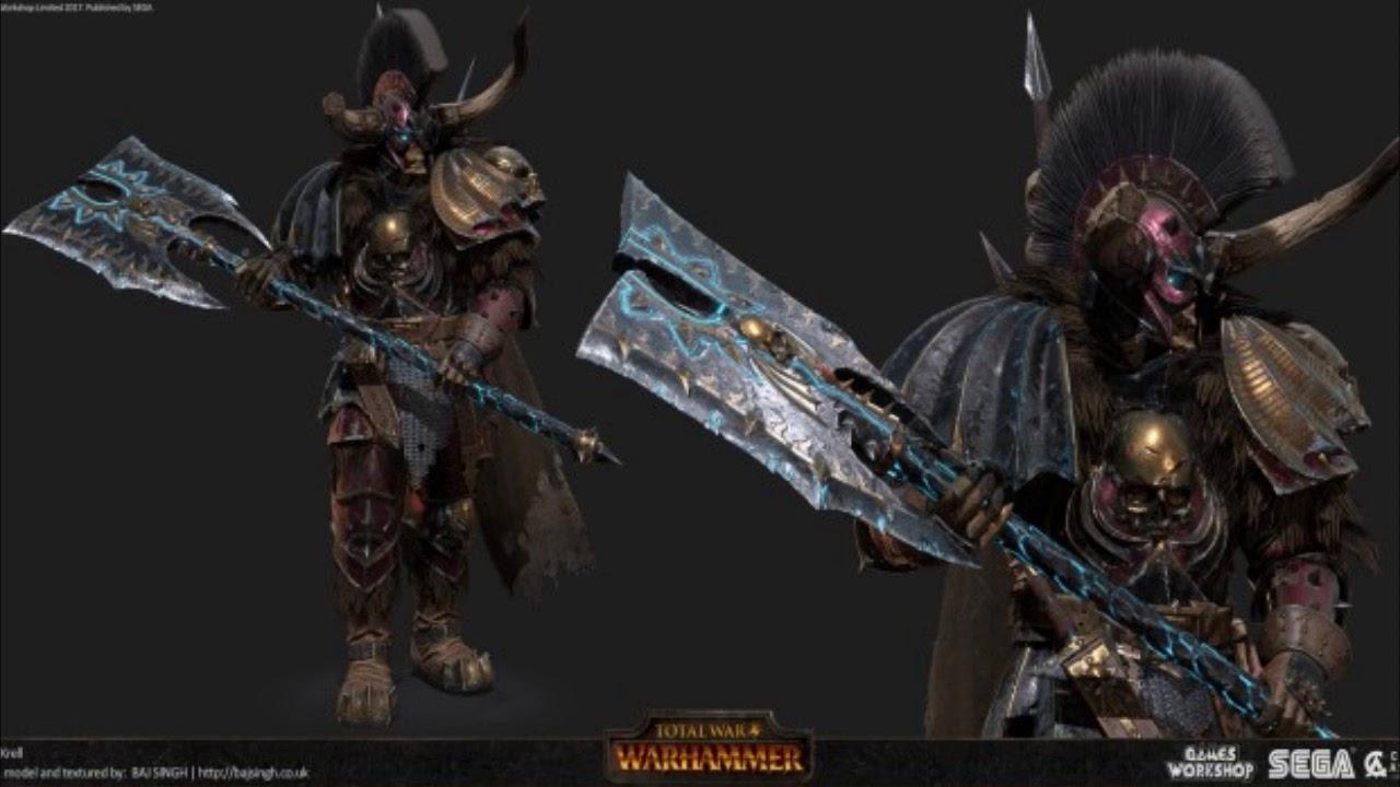 Total war Warhammer: Krell voice lines