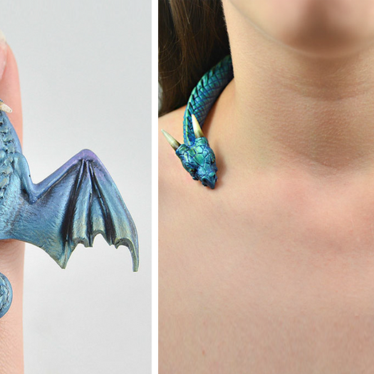 Dragon Jewelry That'll Make You Feel Like The Mother Of Dragons