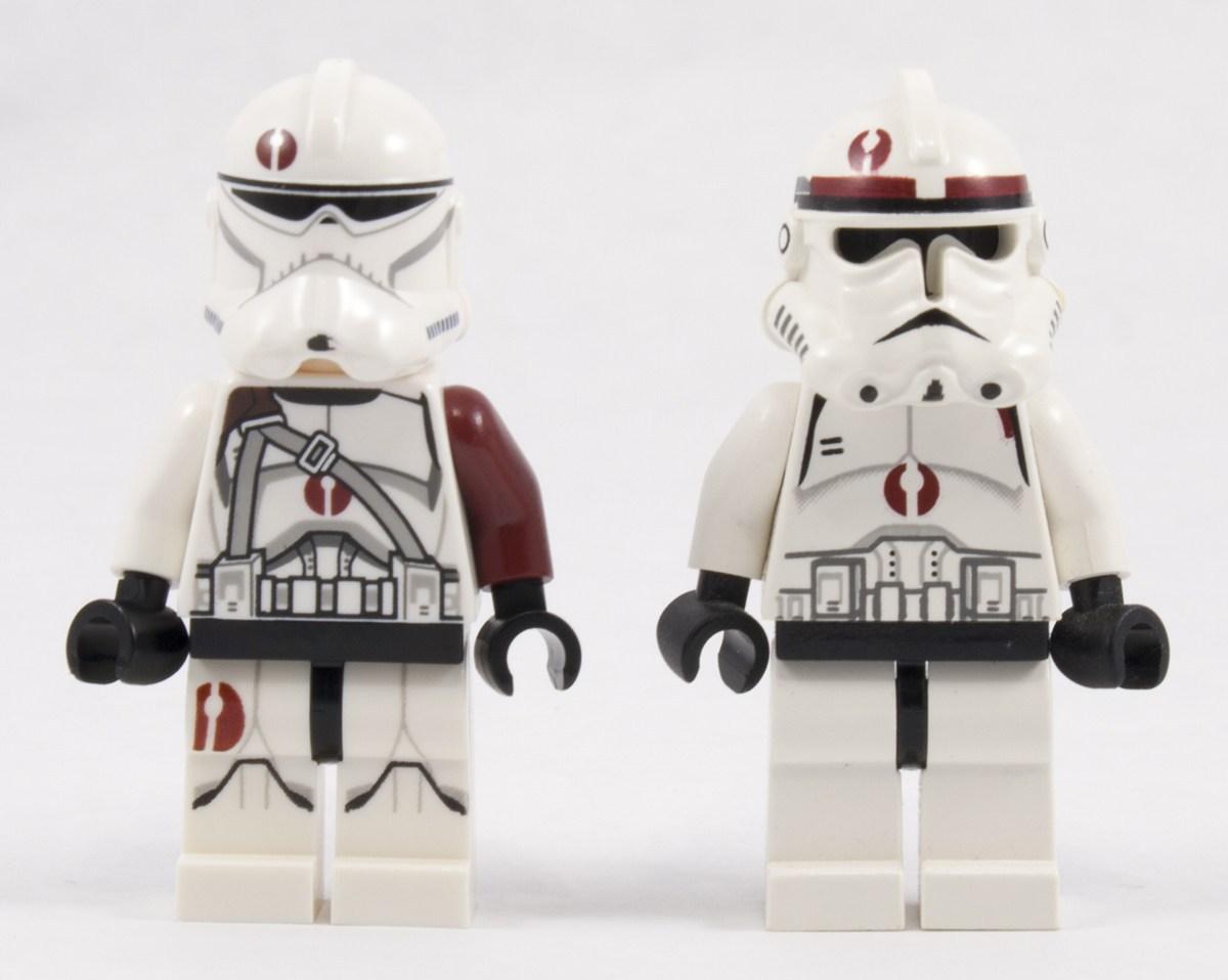 Evolution of Lego BARC Trooper