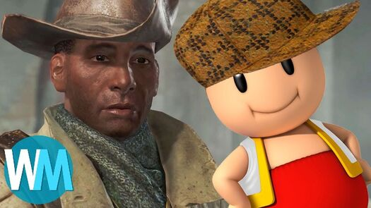 Top 10 USELESS Video Game Characters