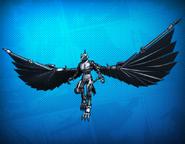 Cyborg Beast Costume Set Detail 2