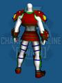 Dark Fantasy Armor Set - Back