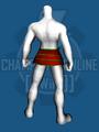 Subligar - Dark Armor (Hips Layer) - Back