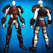 Dark Fantasy Armor Costume Set Detail 2