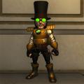 Steampunk Action Figure