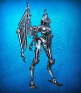 Cyborg Beast Costume Set Detail 4