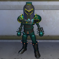 Mini-Mega Destroid Action Figure