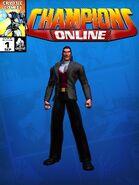 Costume Rakshasa 2008 CC Comic Page Blue 307001065