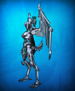 Cyborg Beast Costume Set Detail 3