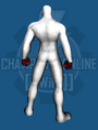 Mechanical Claw (Hands) - Back
