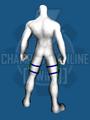 Dark Armor (Leg Accessories) - Back