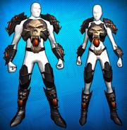 Dark Fantasy Armor Costume Set Detail 1