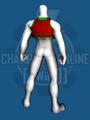 Dark Armor (Chest Layer) - Back