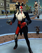 Black Harlequin (Attack of the Misfit Toys)