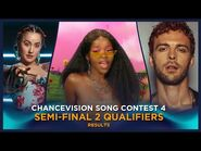 Chancevision Song Contest 4- Tromsø - Semi-Final 2 - Results