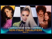 Chancevision Song Contest 4- Tromsø - Semi-Final 1 - Results