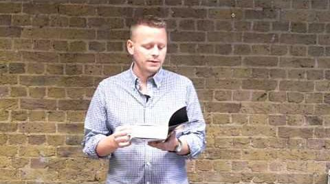Patrick Ness reads from Monsters of Men