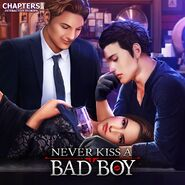 Never Kiss a Bad Boy Cover