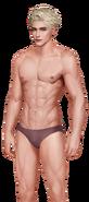 Wesley Black Brown Underpants