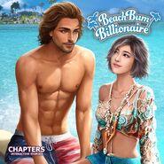 Beach Bum Billionaire Cover