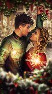 Christmas on Mistletoe Lane Cover Blank