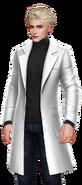 Wesley Black Lab Coat