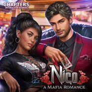 Nico A Mafia Romance Cover