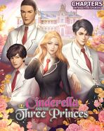 Cinderella and the Three Princes Cover