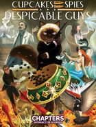 Cupcakes, Spies and Despicable Guys Vertical Cover
