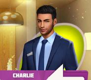 Charlie Burns Blue Suit