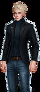 Wesley Black Black Blazer and Jeans