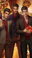 A Crane Family Christmas Cover Blank