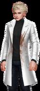 Wesley Black Dirty Lab Coat