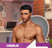 Charlie Burns Shirtless