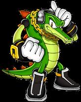 Vector the Crocodile (Canon, Game Canon)/Maverick Zero X